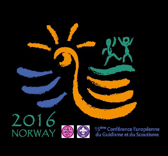 Logo 15ème Conférence Européenne du Guidisme et du Scoutisme